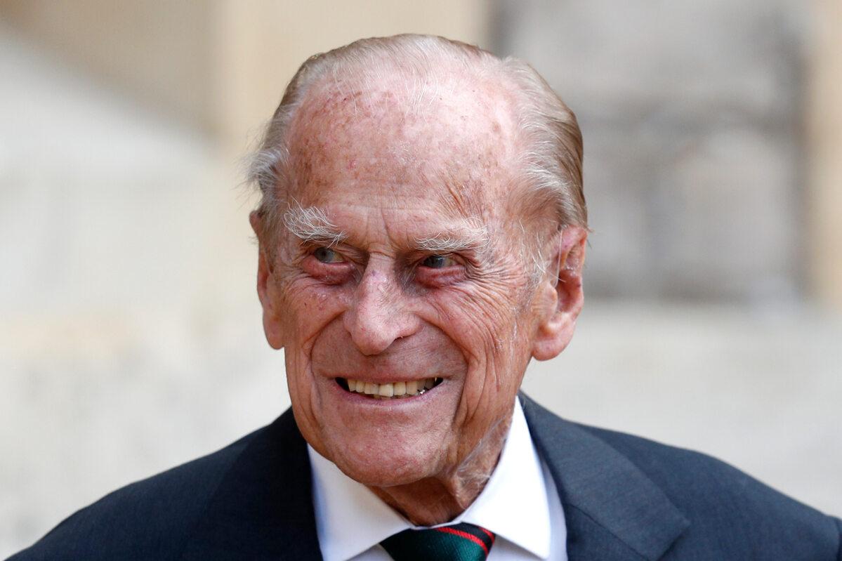 Książę Filip w 2020 roku