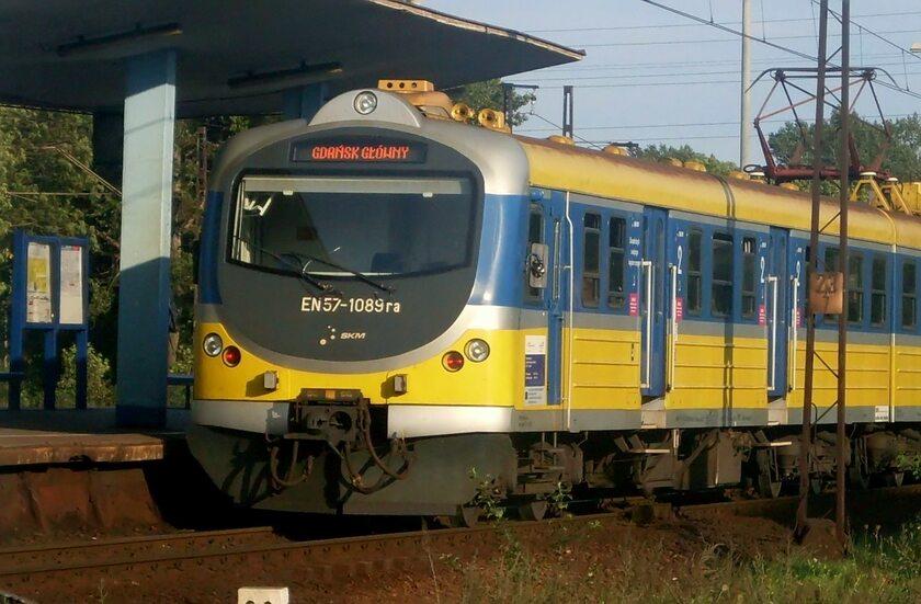 Pociąg trójmiejskiej SKM