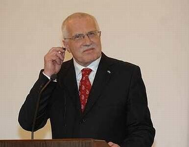 Po Klausie Czechami będzie rządzić jego żona?