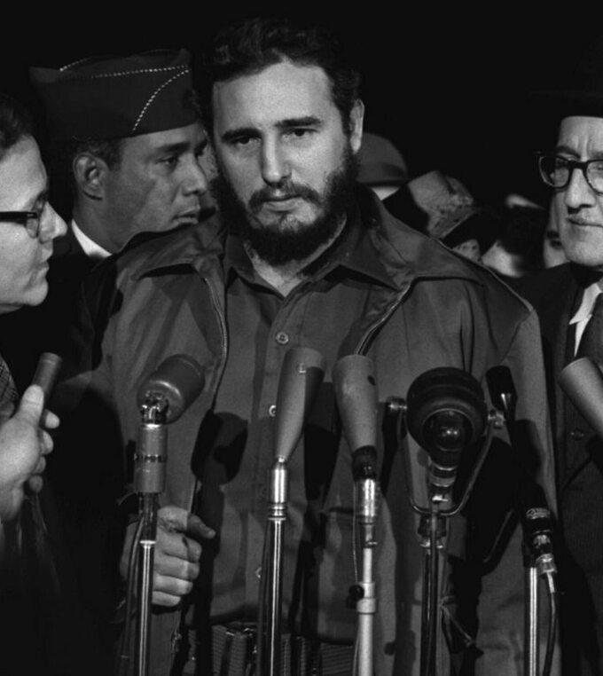Fidel Castro wUSA w1959 roku