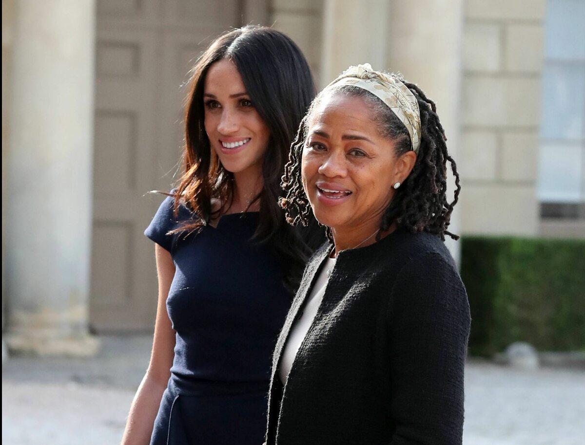 Meghan Markle i jej mama Doria Ragland