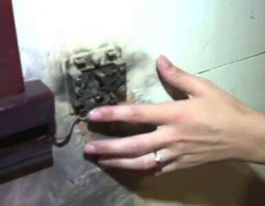 Błyskawica uderzyła w dom. Piorun wypalił dziurę w kojcu dziecka