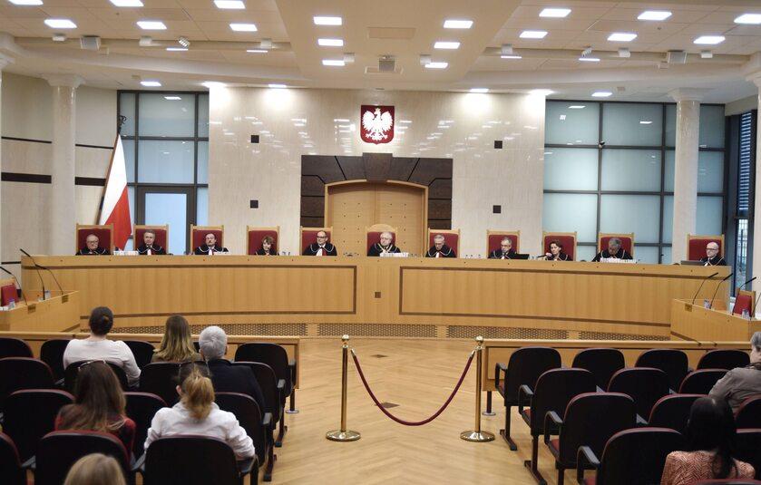 Jedna z rozpraw Trybunału Konstytucyjnego
