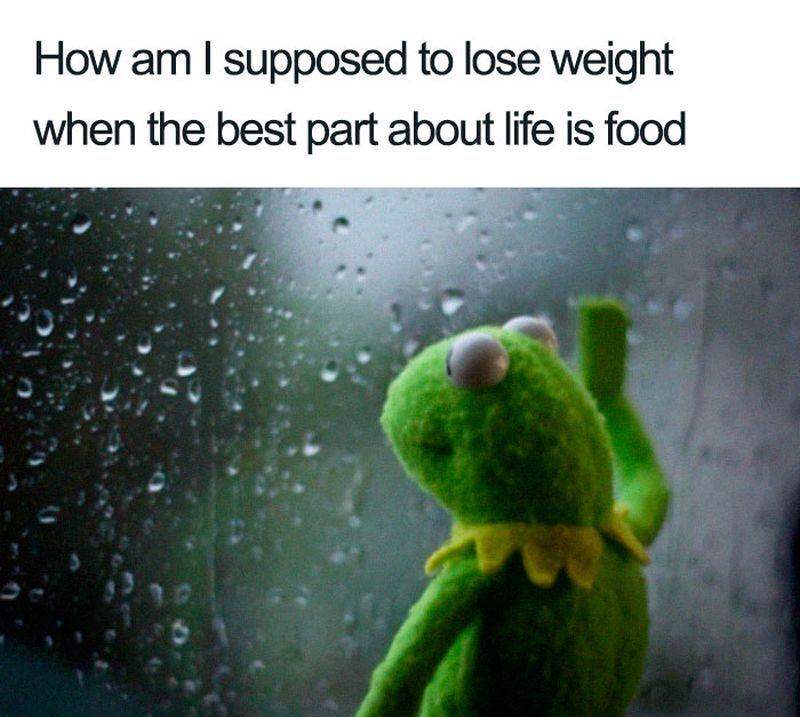 Jak mam zrzucić wagę, kiedy jedzenie to najlepsza część życia?