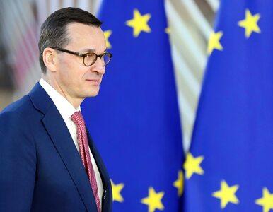 Morawiecki o negatywnym stosunku unijnych polityków do Theresy May....
