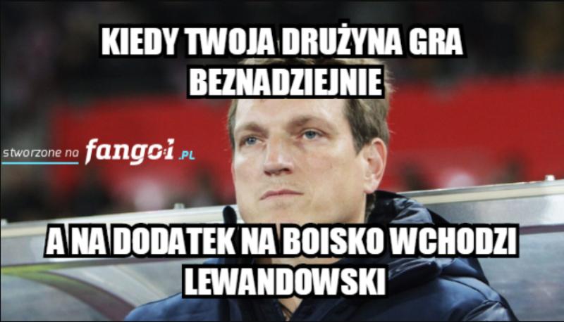 Mem po meczu Polski z Izraelem