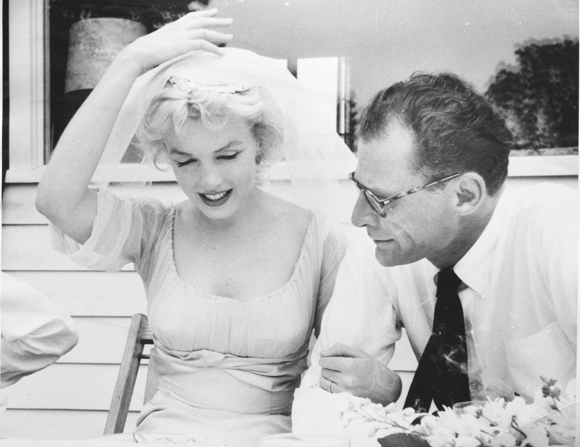 Ślub Marilyn Monroe i Arthura Millera
