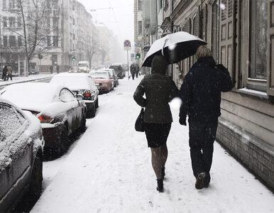 Prognoza pogody: śnieg spadnie wszędzie