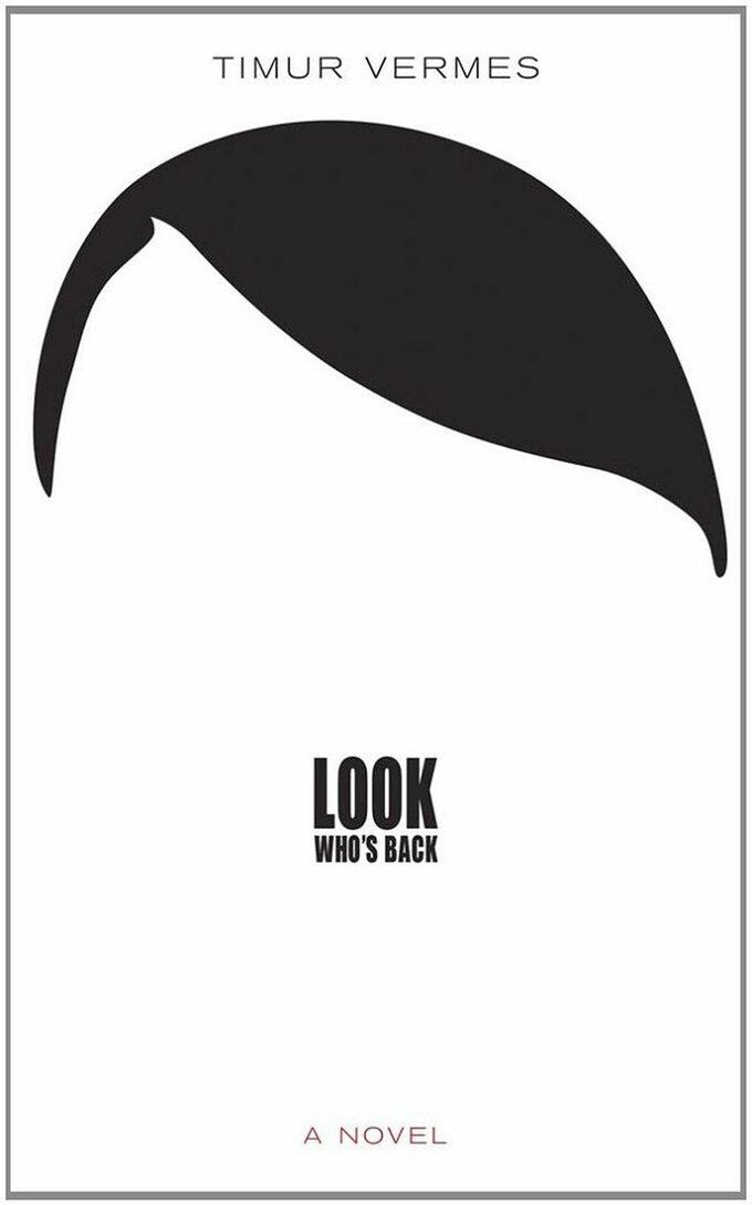 """Grafika naokładce powieści """"Look who's back"""""""