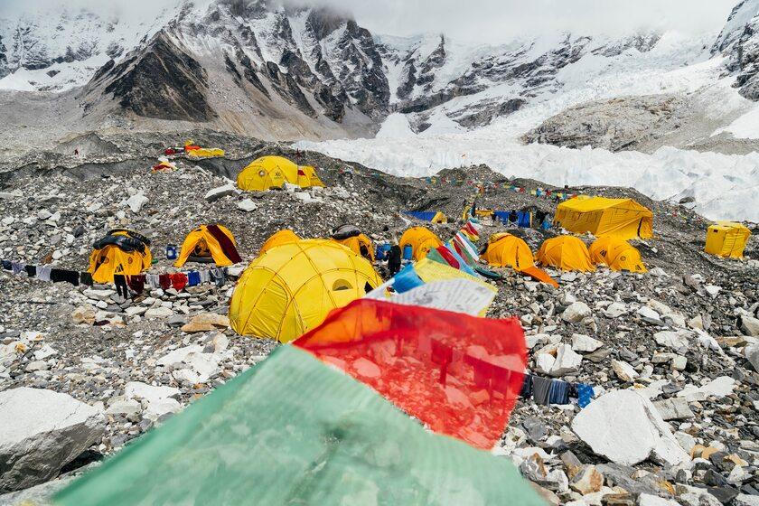Polski obóz na Mount Everest
