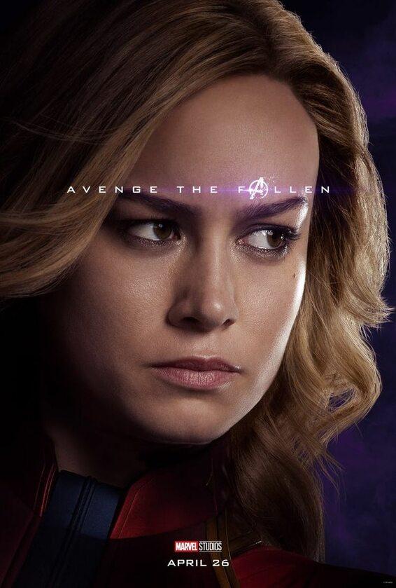 Kapitan Marvel - Brie Larson