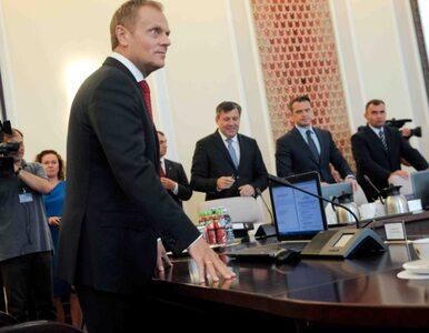 Poseł PO: ministrowie chowają się za plecami Tuska