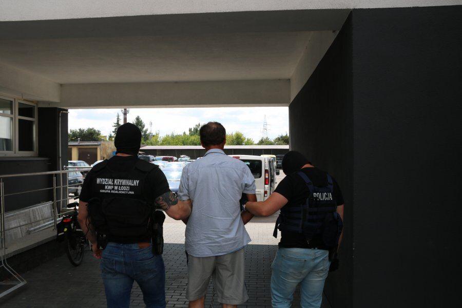 Zatrzymanie podejrzanego o zabójstwo policjanta