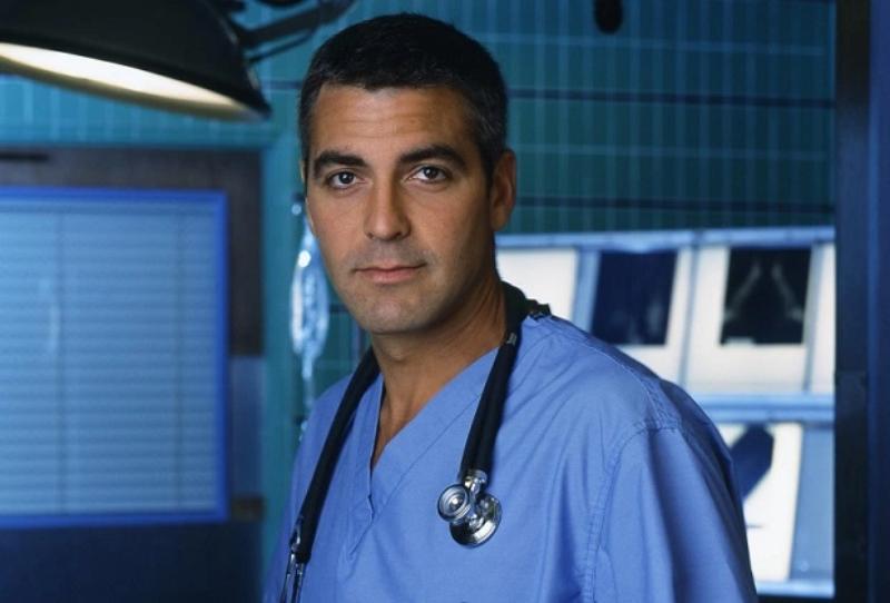 George Clooney wcielił się w serialu w: