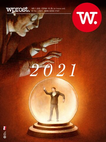 Okładka tygodnika Wprost nr 1/2021 (1966)