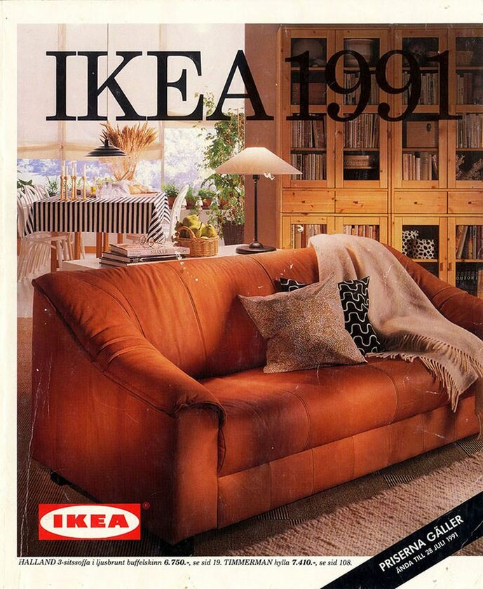 Okładka katalogu IKEA z 1991 roku