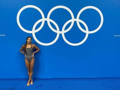 Paulina Peda – polska pływaczka, która startuje na igrzyskach w Tokio