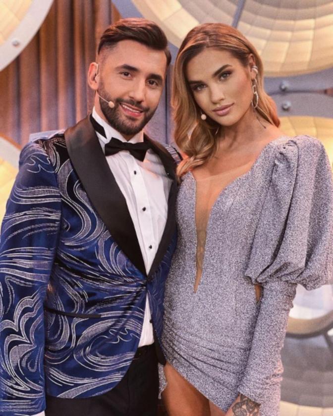 Karolina Gilon i Rafał Maserak