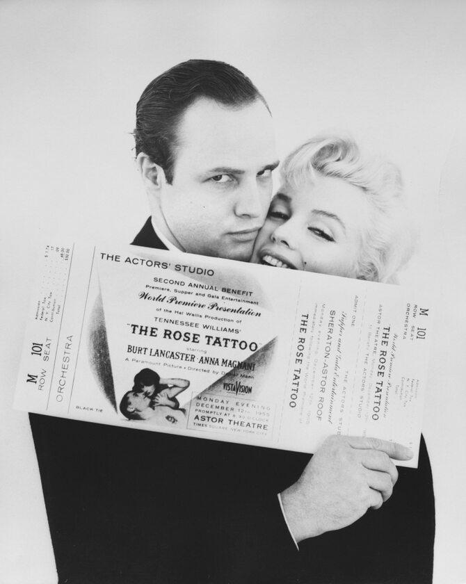 Marilyn Monroe i Marlon Brando