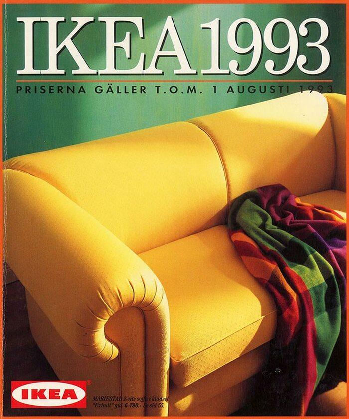 Okładka katalogu IKEA z 1993 roku