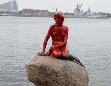 Zdewastowano Małą Syrenkę z Kopenhagi. To protest przeciwko krwawej...