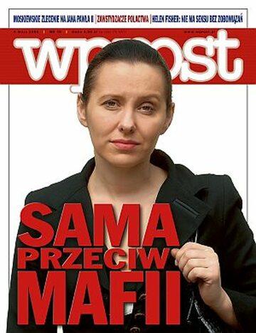 Okładka tygodnika Wprost nr 18/2008 (1323)