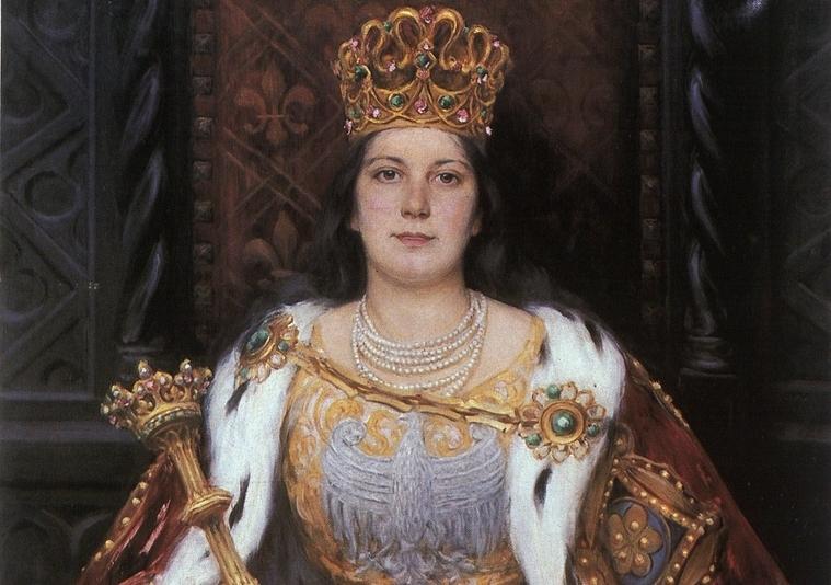 Pierwsza kobieta, która została polskim królem. Na czele rycerskiej wyprawy odzyskała Ruś