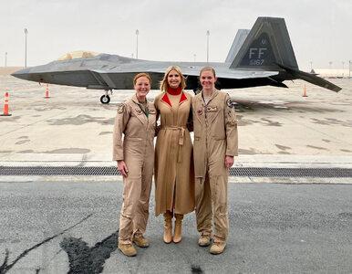 """Ivanka Trump odwiedziła bazę wojskową USA w Katarze. """"To zaszczyt"""""""