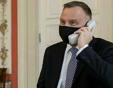 Duda rozmawiał z królem Jordanii przez niepodłączony telefon? Spychalski...