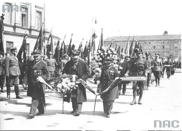 6. Uroczystości w Warszawie z okazji rocznicy Bitwy Warszawskiej (fot. Narodowe Archiwum Cyfrowe)