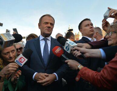 """Tusk odpowiada Morawieckiemu. """"Haratanie w gałę to zajęcie dla..."""
