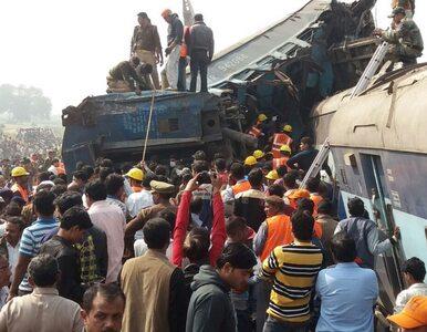 Katastrofa kolejowa w Indiach. Śmierć poniosło co najmniej 100 osób