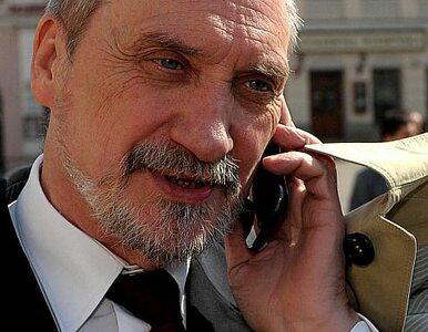 Macierewicz doniósł na Sikorskiego do prokuratury. Za Smoleńsk