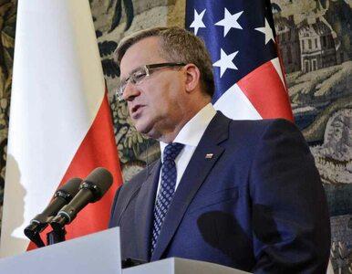 Komorowski na spotkaniu PO: Pragnę być cząstką tego frontu
