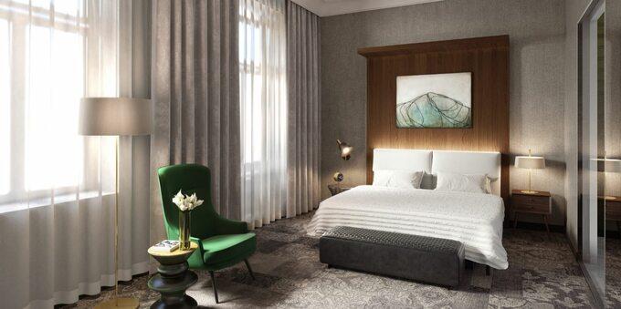 Hotelu Royal wKrakowie -projekt