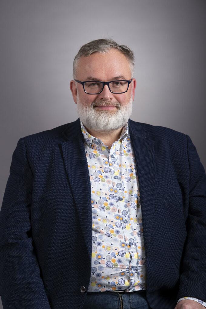 Dr Piotr Ligocki, kierownik oddziału covidowego Wojskowego Szpitala Klinicznego wBydgoszczy