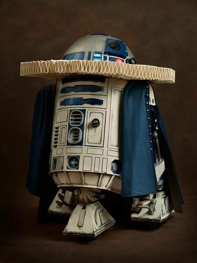R2-D2, Fot. Sacha Goldberger / Facebook
