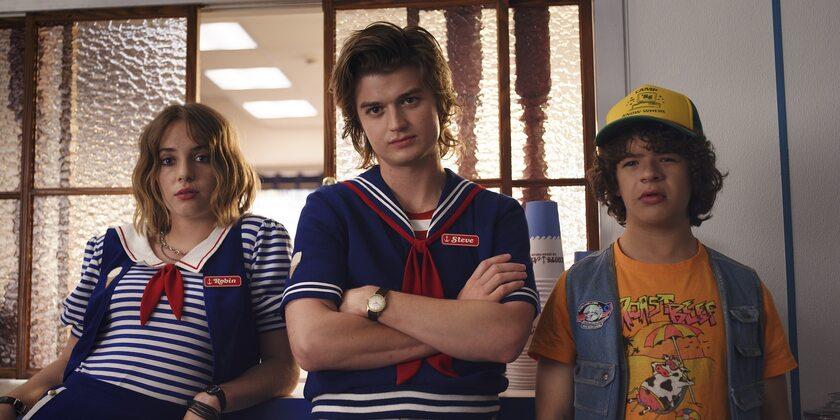 Kadr z serialu Stranger Things 3
