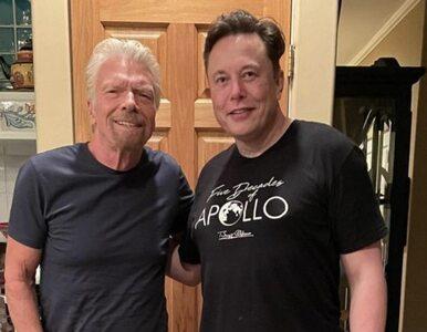Zdjęcie Muska i Bransona hitem. Internauci spierali się o jeden...