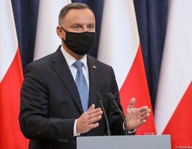 """Rządowy profil prostuje wypowiedź Andrzeja Dudy. """"Pan prezydent miał na..."""