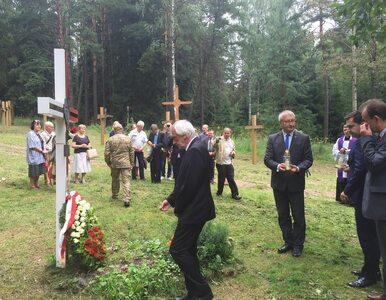 Polscy parlamentarzyści oddali cześć ofiarom stalinowskich zbrodni w...