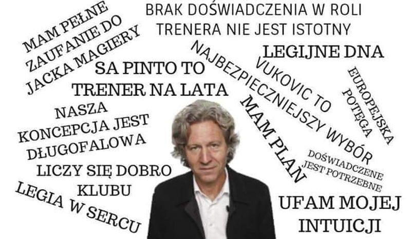 Mem z Legią Warszawa