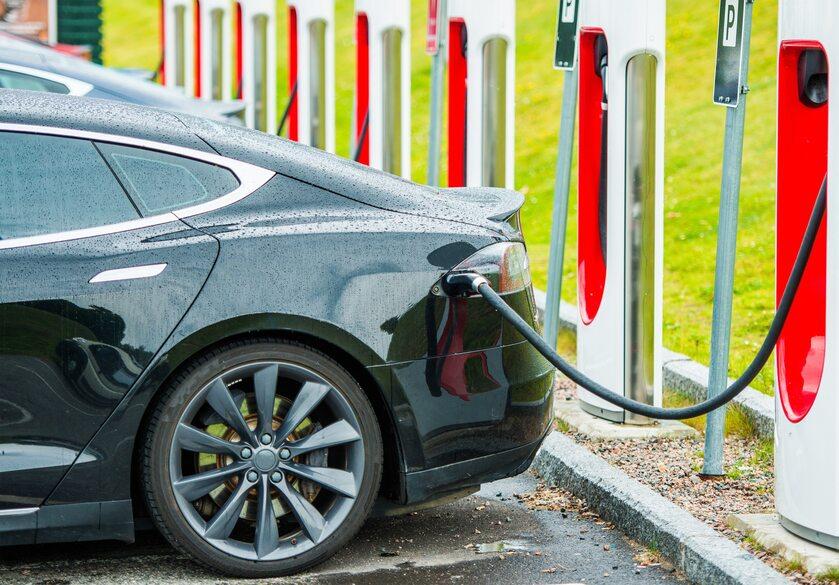 Samochód elektryczny (zdj. ilustracyjne)