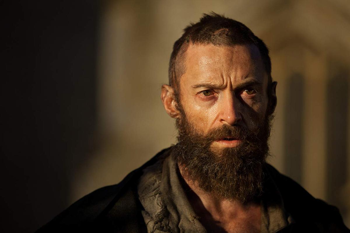 """Hugh Jackman w filmie """"Les misérables: Nędznicy"""" (2012)"""