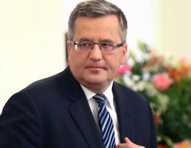 """Bronisław Komorowski Człowiekiem Roku """"Wprost"""""""