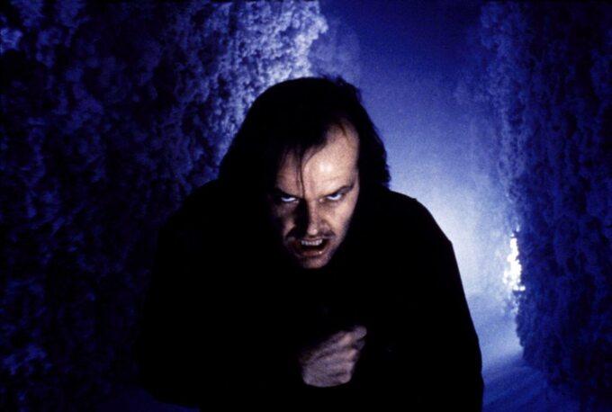 """Kadr zfilmu """"Lśnienie"""" / """"Stanley Kubrick"""" (1980)"""