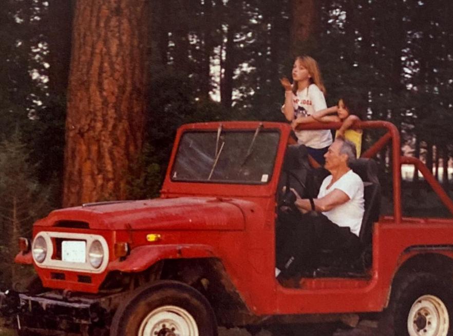 Clint Eastwood z córką