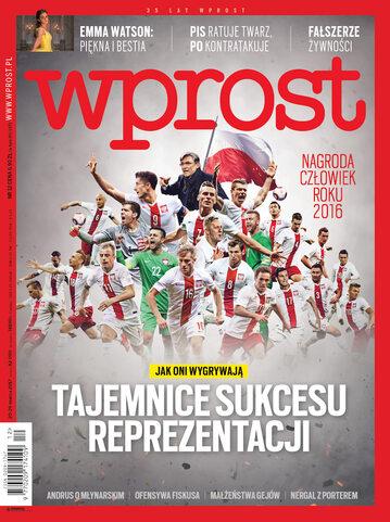 Okładka tygodnika Wprost nr 12/2017 (1779)