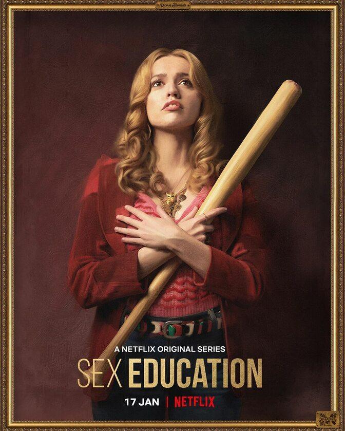 """Plakaty promujące 2. sezon serialu """"Sex Education"""""""