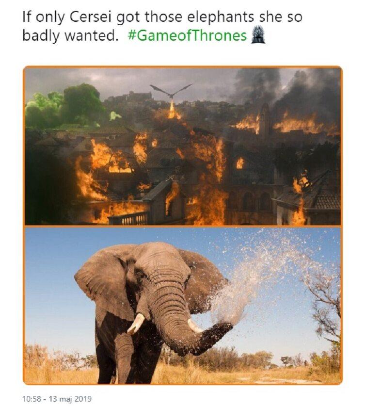 Gdyby tylko Cersei miała słonie...